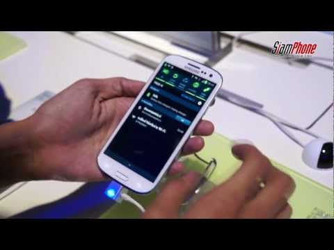 เปิดตัว SAMSUNG Galaxy S III สมาร์ทโฟนที่รอคอย
