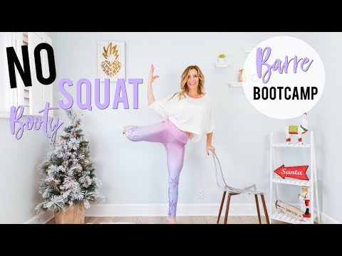 NO SQUAT Booty & Leg Workout  Barre Bootcamp