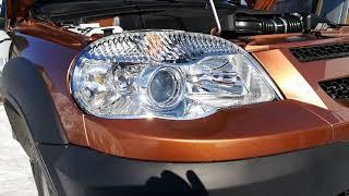 Обзор и осмотр новой Chevrolet Niva. Цвет бронза. Часть 1.