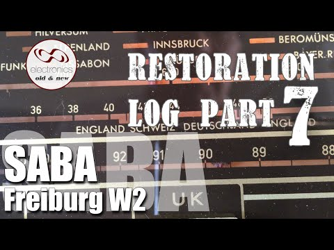 Saba Freiburg W2 Restoration  - Part 7. RF Alignment.