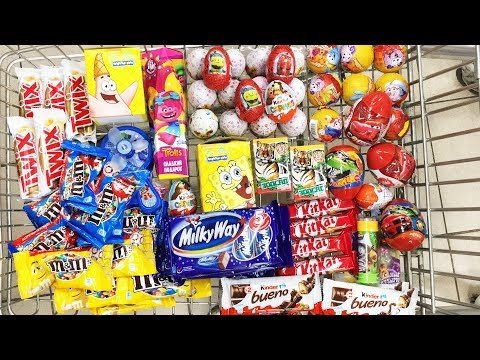 A Lot Of Candy 2018 NEW #64 Киндер...