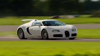 Bugatti Veyron vs Pagani Zonda Power Lap HQ - Top Gear - BBC