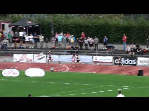 Finale 400m Championnats Suisses Femmes