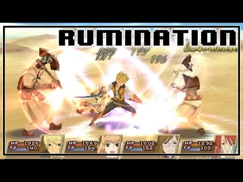 Rumination Analysis on Tales Of The Abyss