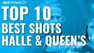 Top 10 Best Shots & Rallies: Halle & Queen's 2019