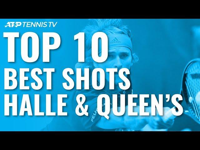Top 10 Best Shots & Rallies: Halle & Queen's 2019