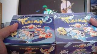Opening 2 Pokemon Legendary Collection Booster Boxes (Part 1)