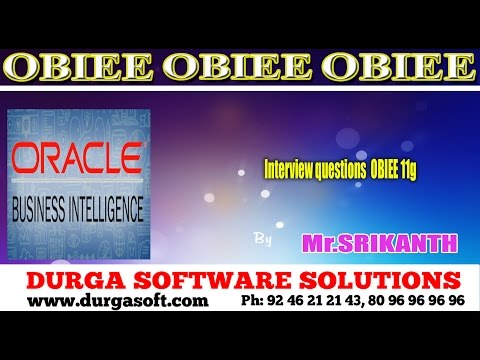 Oracle Business Intelligence || Interview questions