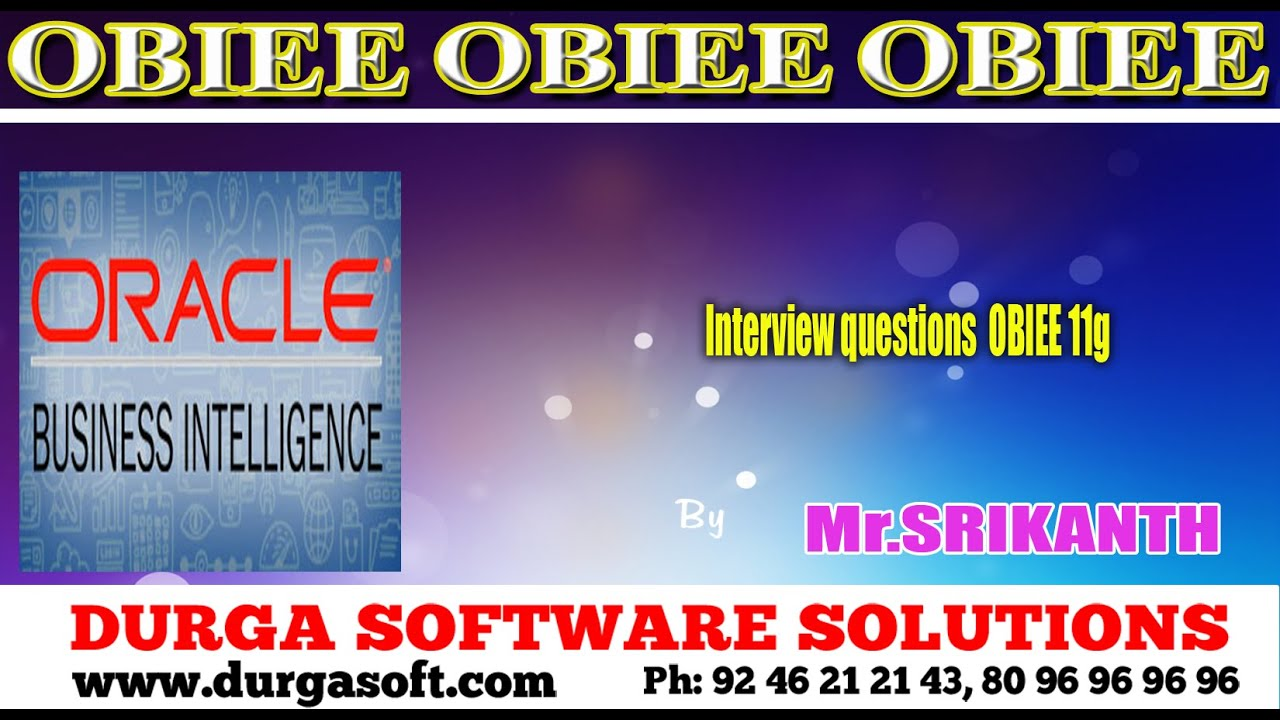 oracle business intelligence interview questions oracle business intelligence interview questions