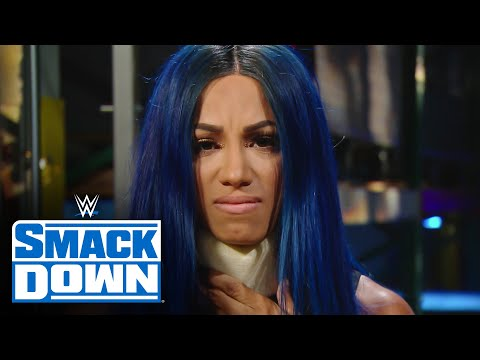 Bayley blindsides Sasha Banks' interview: SmackDown, Sept. 18, 2020