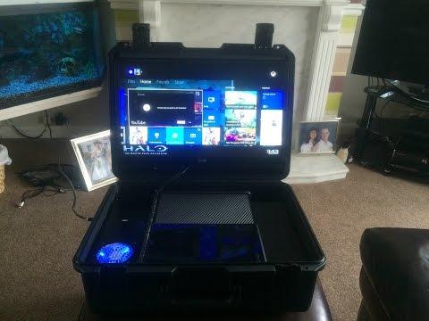 Xbox One Tough Case - Pelican Storm Custom Build