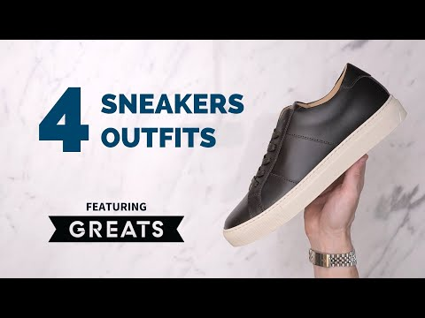 Men's Sneakers Unboxing & Try-On | Sneakers Outfit Ideas For Guys Ft. GREATS