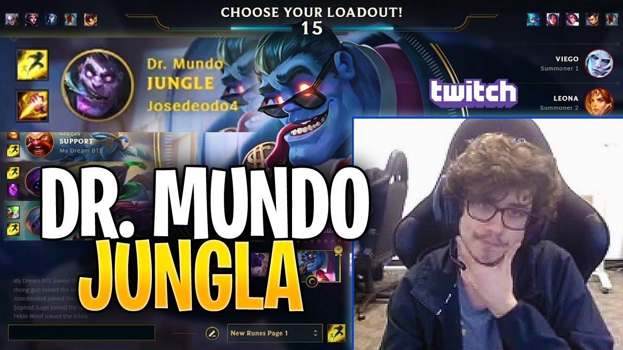 JOSEDEODO DEMOSTRÓ POR QUÉ DR.MUNDO ESTÁ ROTO!! | Josedeodo Stream