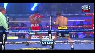 Sergio Thompson vs Jorge Linares (boxeo Fox Sports)