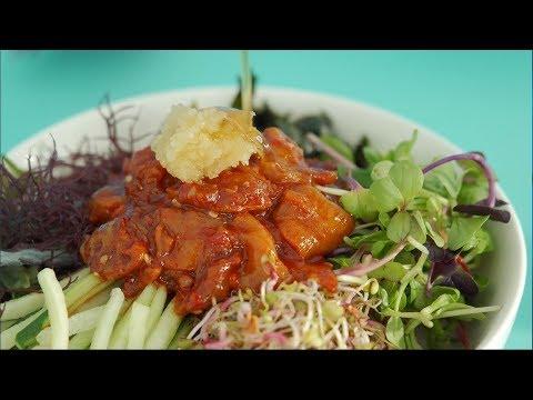 [키친다이어리] 셰프의 요리키트 l 쿡킷 l 멍게무침 비빔밥과 쑥국ㅣ봄 제철요리ㅣ간단 레시피