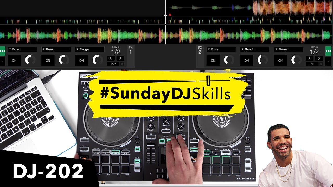 Roland DJ 202 - Remaking Drake's 'Nice For What' - Performance DJ Mix