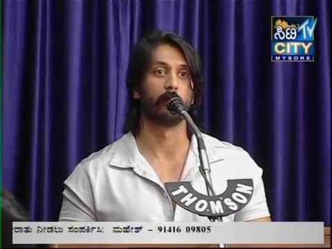 Lauching of Novel 'Preethiya Arasi' by Myna fame Actor Chethan