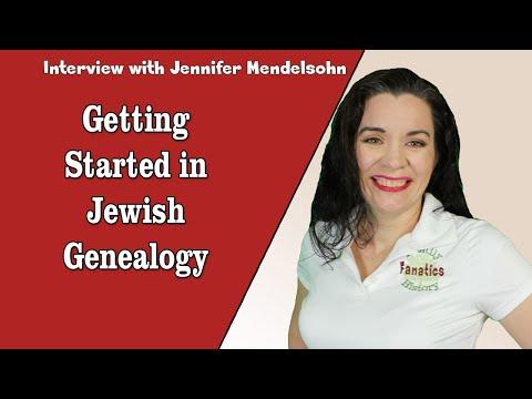 Tips for Beginning Jewish Genealogy Research Journey with Jennifer Mendelsohn