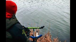 Рыбалка  2021. Ловля на фидер плотвы зимой. Открытие сезона!