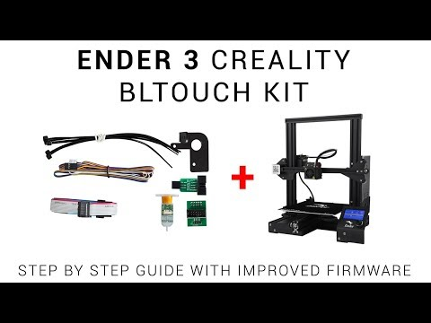 Download Bltouch Auto Bed Leveling Install On The Creality Ender 3