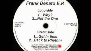 Get In Time - The Frank Denato EP - Martin Madhatter - Mighty Rider Records (Side B1)