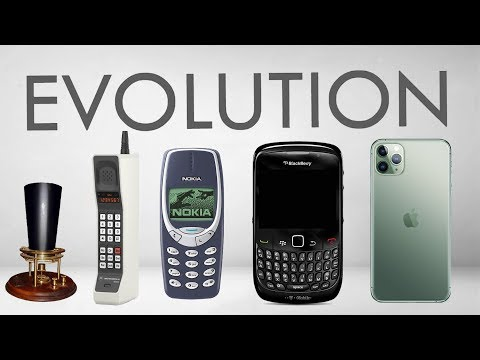 Evolution of Phones | 1876 - 2020