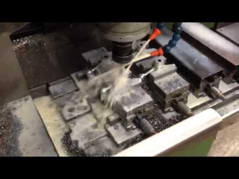 Ball Handle machining.
