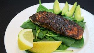 Simple Blackened Salmon