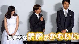 俳優の伊藤英明が16日、都内で行われた映画『22年目の告白−私が殺人犯で...
