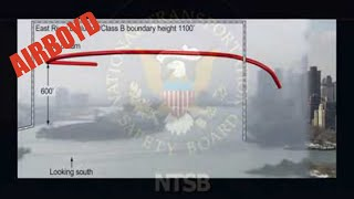 NTSB Animation Cirrus Design SR20 Manhattan, New York City