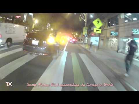 Santa Monica to Los Feliz Commute - Late 2012