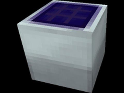 Tekkit Solar Panel Solar Energie Tutorial 002 Youtube