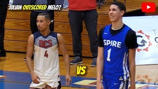 Julian Newman vs LaMelo Ball! The FIRST TIME They Matched Up Video