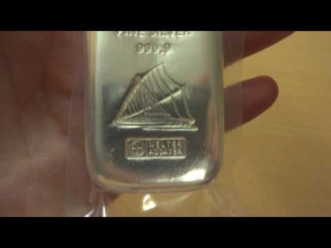 Fiji silver bar - 500 grams