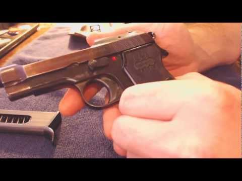 Beretta 1935 .32 ACP - Going old school