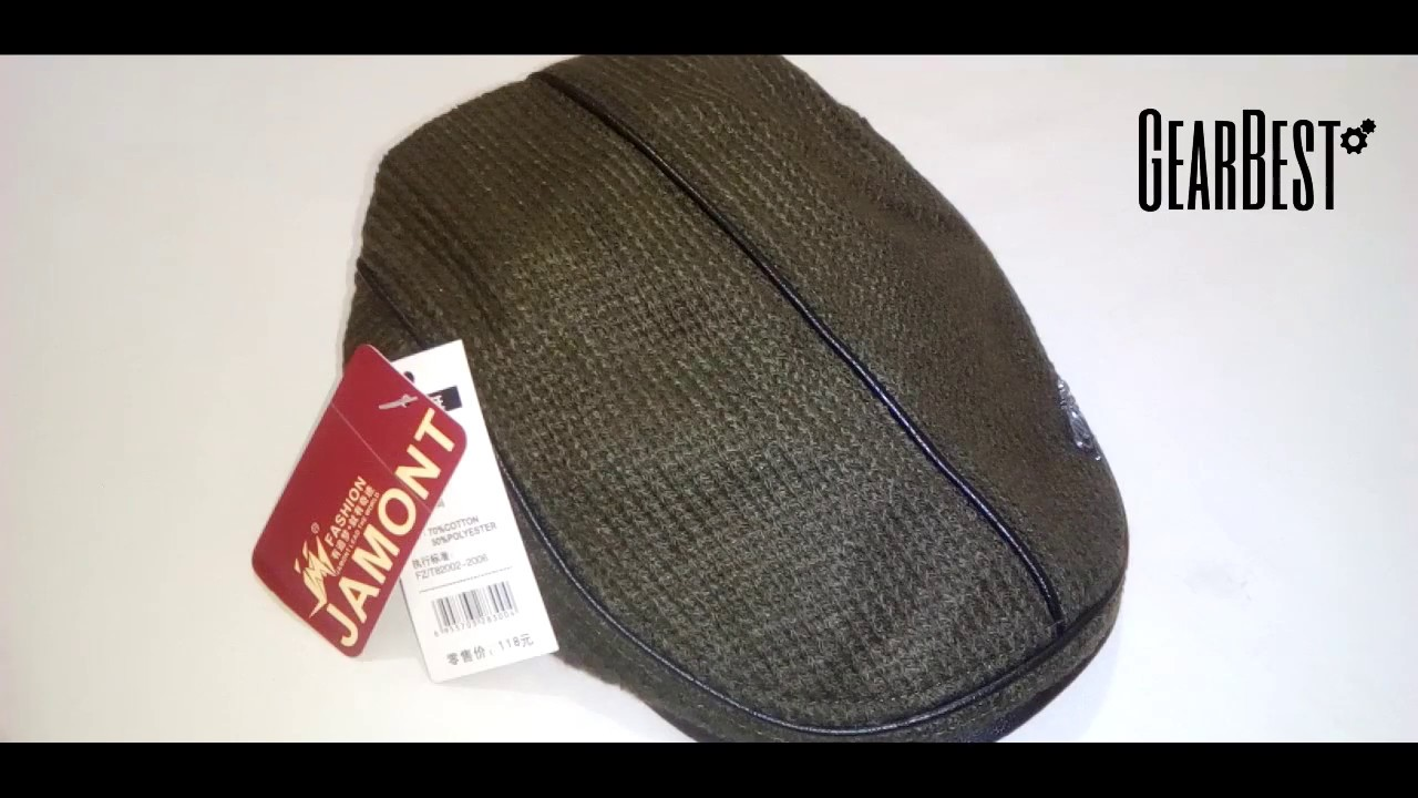a96885a8dfd0a REVIEW JAMONT Thicken Keep Warm Knitted Peaked Cap for Men - ARMY GREEN