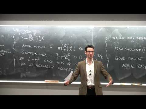 Ep14 Size of polymers in solution, micro/nanostructure in solid state. UCSD, NANO 101, Darren Lipomi