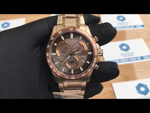 Xship.vn: Citizen BL5486-57E Mens Eco-Drive Perpetual Calendar Chronograph Watch