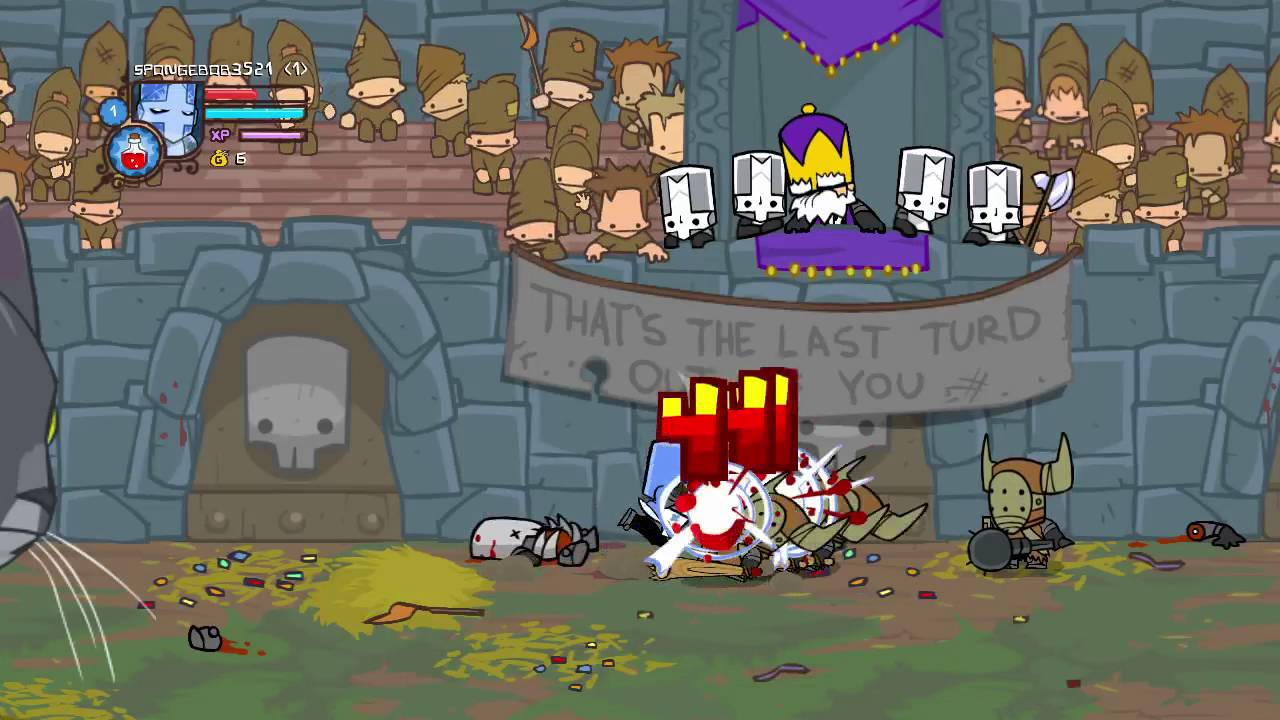 10-Minute Gameplay - Castle Crashers (PC) - YouTube