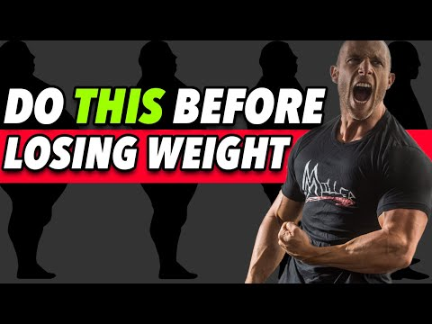 8 ESSENTIAL Things To Do BEFORE Losing Weight!!