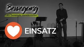 Einsatz - Apg 3,1-12 - Bewegung - Als Gemeinde vorankommen - Maiko Müller