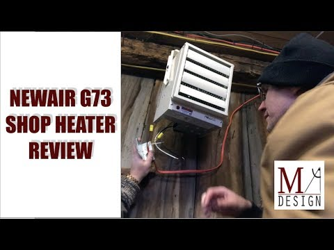 Shop Heater Setup: NewAir G73 Electric Garage Heater Review