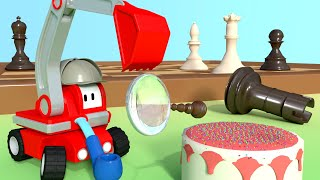 The Tiny Detectives - Learn with Tiny Trucks 👶 Educational Cartoon for Kids