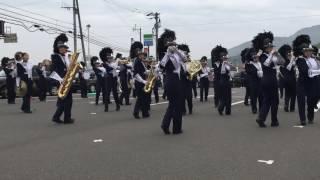 神村学園マーチングバンド 野外演奏–2016年11月20日–