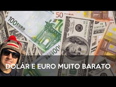 COMO COMPRAR DOLÁR E EURO MUITO BARATO!