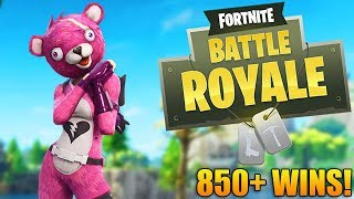 NEW SKINS AND UPDATE! - 850+ Wins - Level 100 - Fortnite Battle Royale Gameplay - (PS4 PRO)