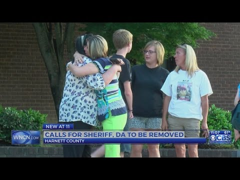 Group calls on Harnett County leaders to remove Sheriff and DA