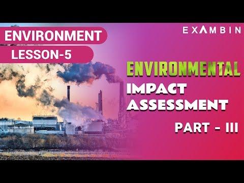 Environment Impact Assessment Part III