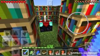 Как сделать книгу зачарований в Minecraft(, 2015-12-20T17:08:01.000Z)