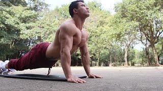 Treino de peito, ombro e tríceps para aumentar massa muscular thumbnail